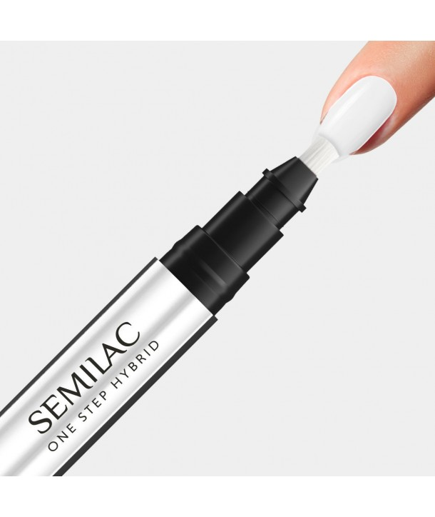 S110 The White Semilac One Step Hybrid 3ml