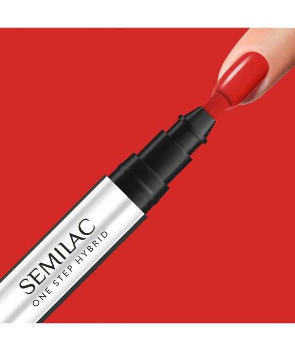 S530 Scarlet Semilac One Step Hybrid 3ml
