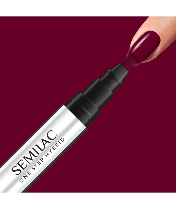 S580 Crimson Semilac One Step Hybrid 3ml