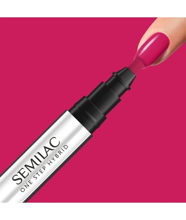 S680 Magenta Semilac One Step Hybrid 3ml