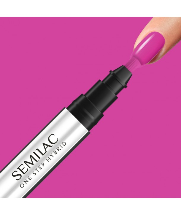 S685 Pink Purple Semilac One Step Hybrid 3ml