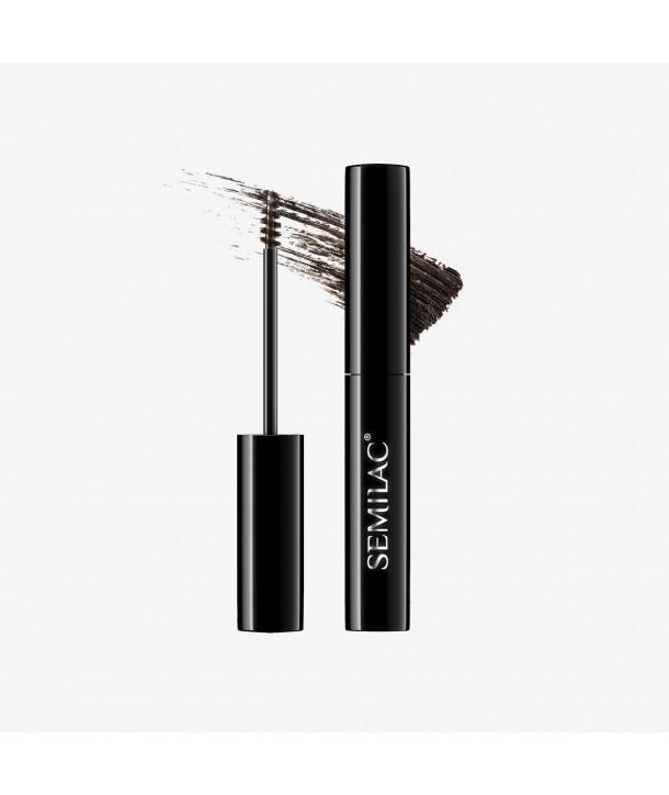 Semilac Lady Brows 01 Stone Gray Gel Brow Mascara 3ml
