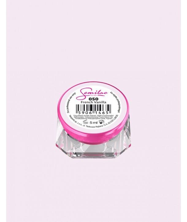 050 UV Gel Color Semilac French Vanilla 5ml