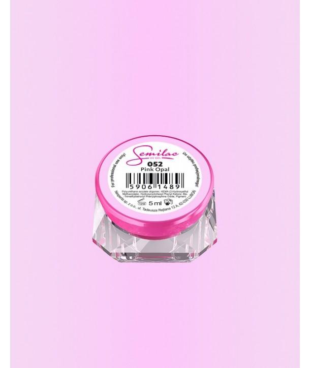 052 UV Gel Color Semilac Pink Opal 5ml