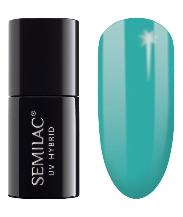 Semilac SemiBeats Hybrid Nail Polish - 522 Light Aquamarine