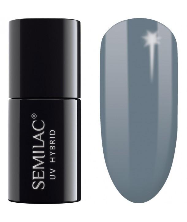 UV Hybrid Semilac Legendary Six by Margaret Navy Gray 525