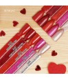 347 Chic Red Glitter Semilac UV Hybrid 7ml