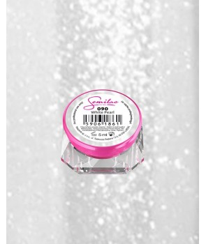 091 UV Gel Color Semilac Glitter Milk 5ml