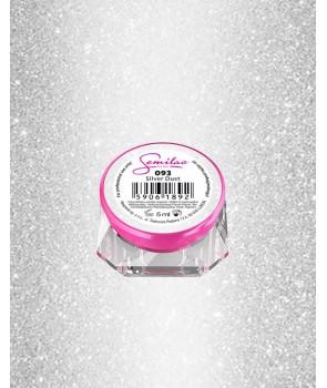 093 UV Gel Color Semilac Silver Dust 5ml