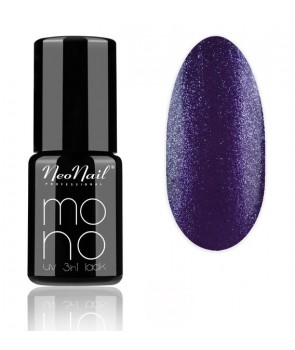 UV Hybrid Mono 3in1 LACK 6ml - Violet Glitter 4042