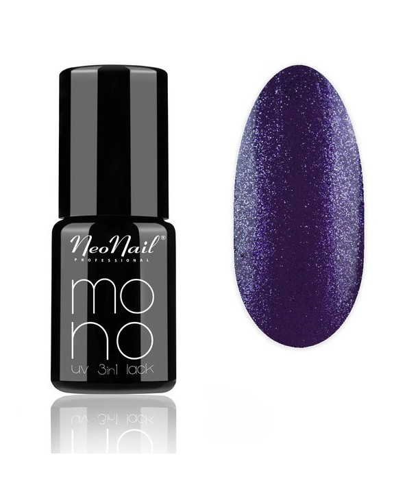 UV Hybrid Mono 3in1 LACK 6ml - Violet Glitter 4042
