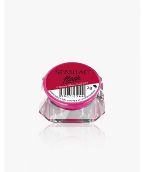 Semilac Flash Neon Effect Red 677