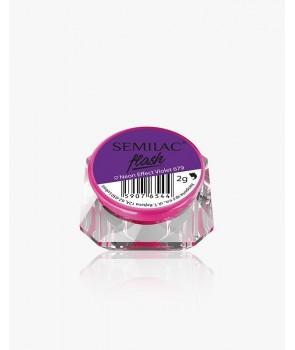 Semilac Flash Neon Effect Violet 679