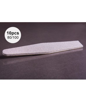 10pcs 80/100 ABA Group Diamond Nail File