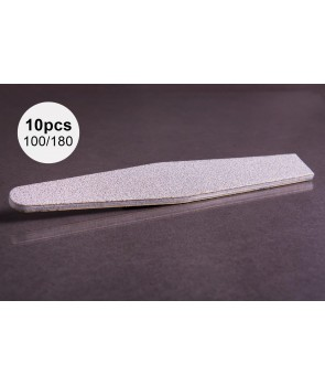 10pcs 100/180 ABA Group Diamond Nail File