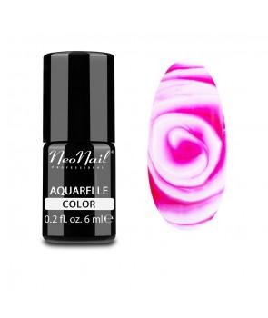Hybrid Nail Polish 6 ml - Raspberry Aquarelle
