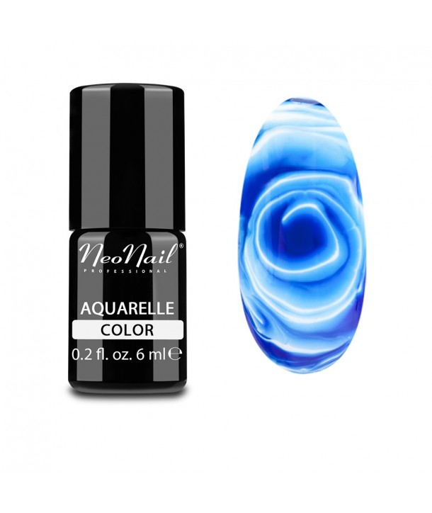 NeoNail Hybrid Nail Polish 6 ml - Navy Aquarelle