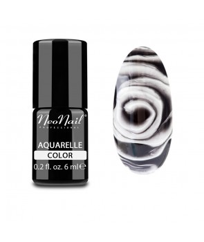Hybrid Nail Polish 6 ml -  Black Aquarelle