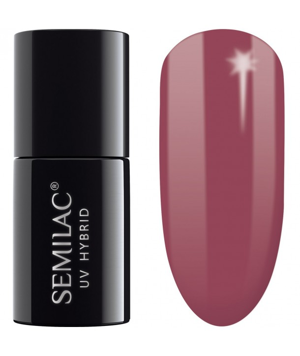 005 UV Hybrid Semilac Berry Nude 7ml