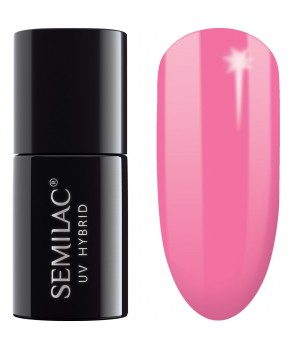 043 UV Hybrid Semilac Electric Pink 7ml
