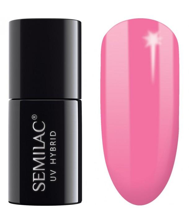 043 UV Hybrid Semilac Electric Pink 7ml
