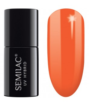 045 UV Hybrid Semilac Electric Orange 7ml