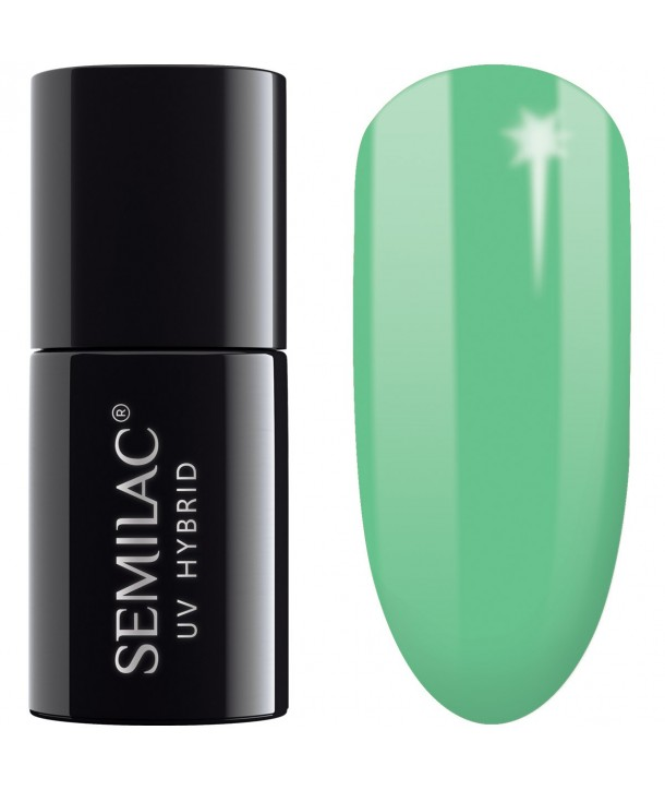 048 UV Hybrid Semilac Bright Emerald 7ml