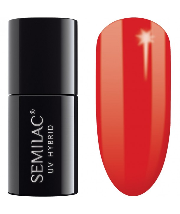 062 UV Hybrid Semilac Poppy Red 7ml