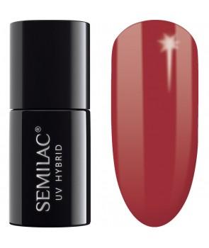 069 UV Hybrid Semilac Dirty Red 7ml