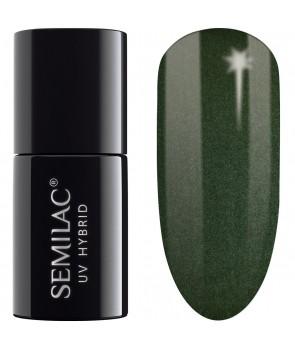 079 UV Hybrid Semilac Dark Green Pearl 7ml