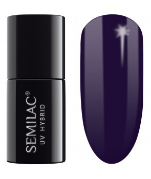 089 UV Hybrid Semilac Black Plum 7ml
