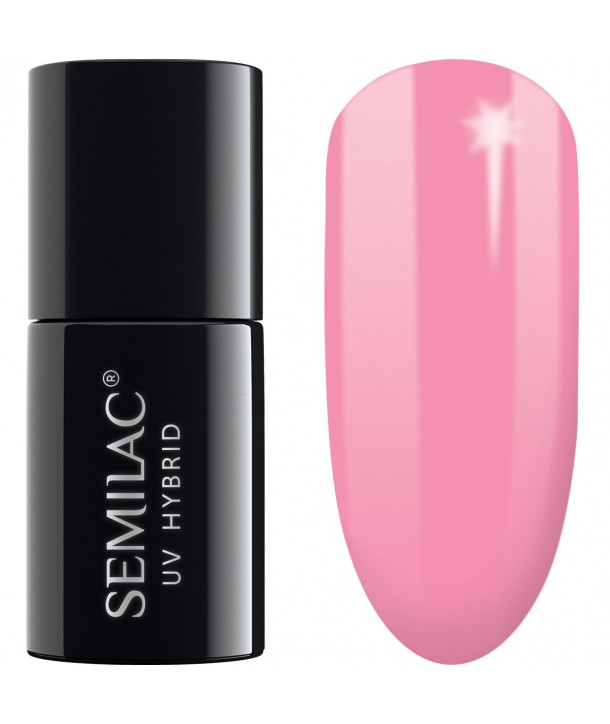 166 UV Hybrid Semilac Crazy Flamingo 7ml