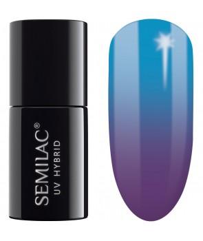 Semilac Thermal Plum&Blue 644