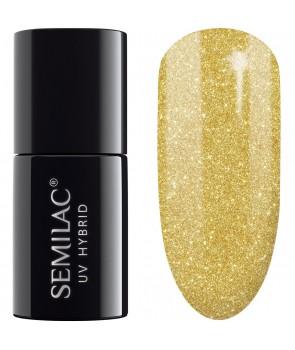 UV Hybrid Semilac Platinum Yellow Gold 261