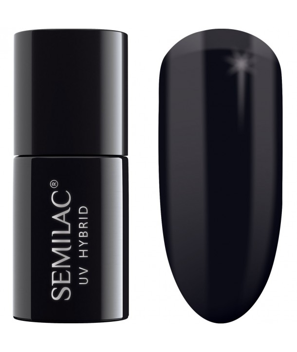 Semilac Shram Effect Black 629