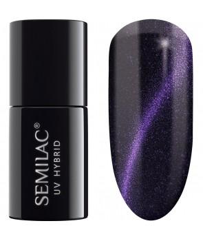 UV Hybrid Semilac Cat Eye Violet 615