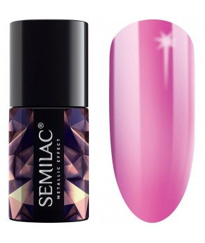 247 Semilac Metallic Effect Pink