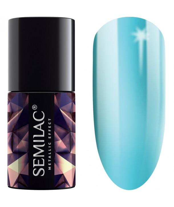 245 Semilac Metallic Effect Turquoise