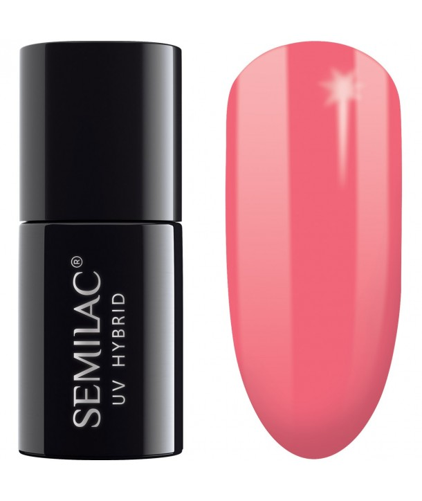 Semilac SemiBeats Hybrid Nail Polish 7ml - 516 Tiny Rose