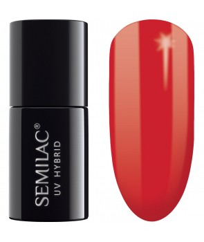 Semilac SemiBeats Hybrid Nail Polish - 519 Full Orange