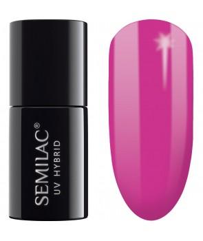 Semilac SemiBeats Hybrid Nail Polish - 520 Clear Amarant