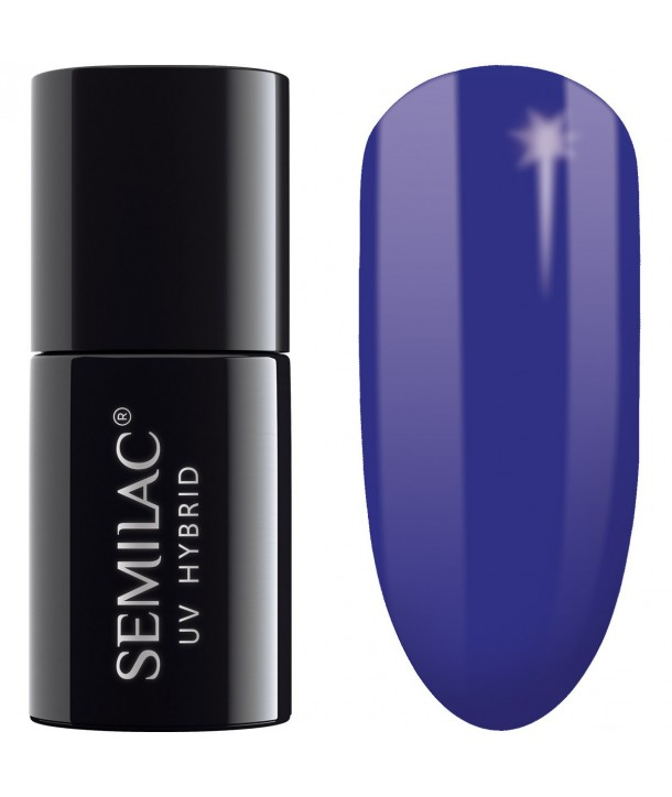 Semilac SemiBeats Hybrid Nail Polish 7ml - 524 Deep Ultramarine