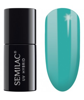 Semilac SemiBeats Hybrid Nail Polish - 522 Light Aquamarine