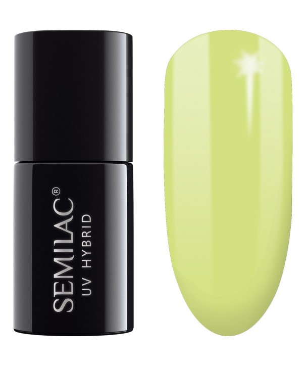 182 UV Hybrid Semilac Flavours Strong Lime