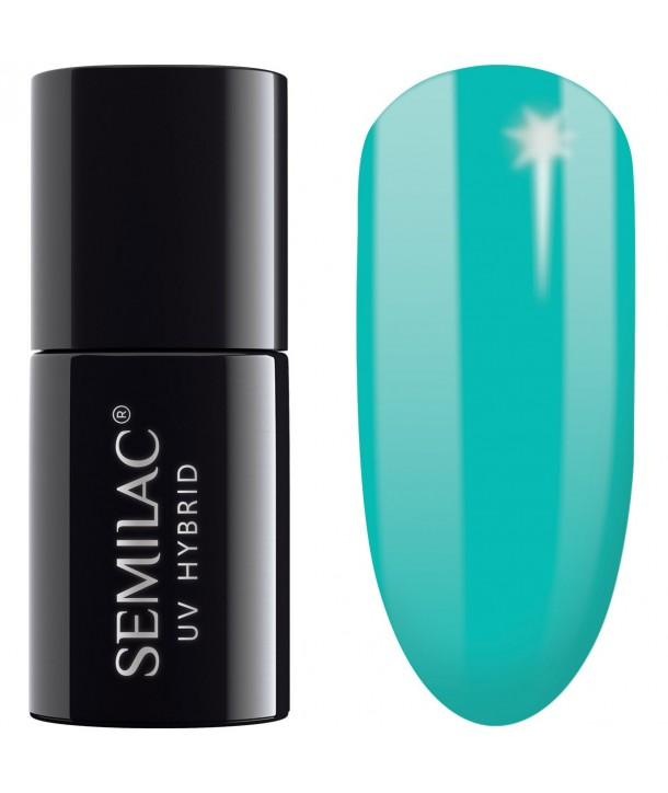 267 Semilac Uv Hybrid PasTells Turquoise