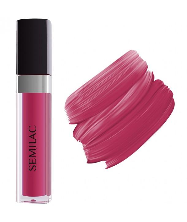 066 Semilac Matt Lips Glossy Cranberry