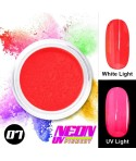 NEON UV Pigment Nail Powder ABA Group Red 07