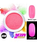 NEON UV Pigment Nail Powder ABA Group Light Pink 08