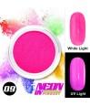 NEON UV Hybrid Nail Powder ABA Group Pink 09
