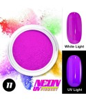 NEON UV Hybrid Nail Powder ABA Group Purple 11
